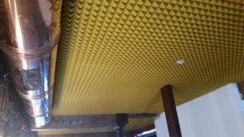 ספוג אקוסטי מלמין פירמידות