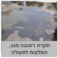 טיפול בגג מרוצף מחדיר מים