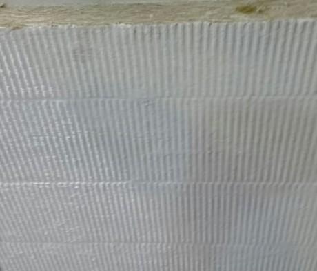 לוח צמר סלעים עם ציפוי דו צדדי שפכטל חסין אש