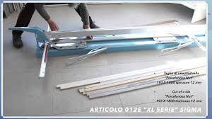 מכונת לחיתוך אריחים גדולים  סיגמה XL איטליה